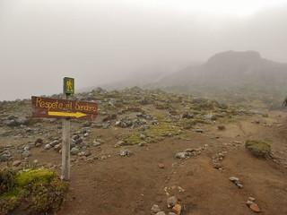 Respect the Path to Iliniza Refugio!