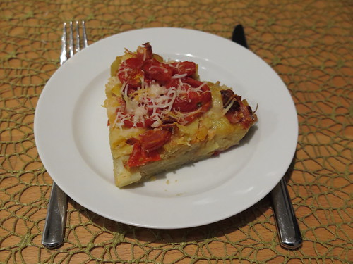 Kartoffelpfanne nach Tortilla-Art (3. Tag)