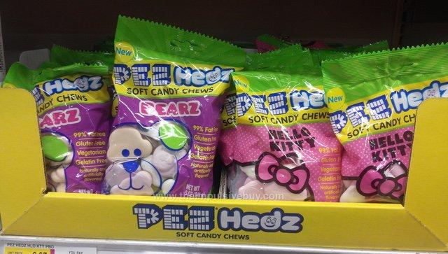 Pez Hedz Soft Candy Chews