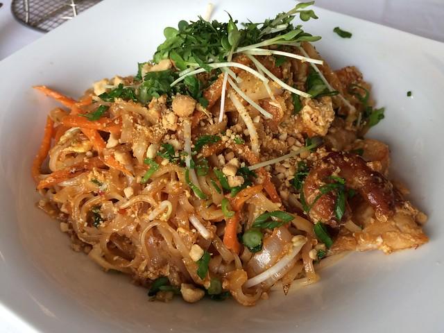 Gulf shrimp pad thai - Chef Geoff's