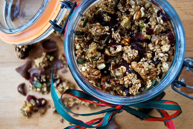 Homemade Christmas Granola