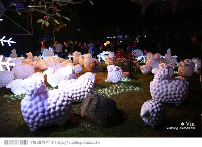 【萬金教堂】屏東萬金教堂聖誕季~3D光雕秀+耶誕地景藝術/全台最濃耶味小鎮!36