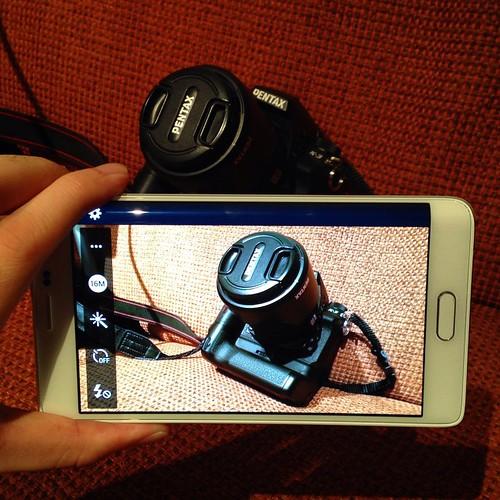 4K対応で約1600万画素のメインカメラ。期待できるのでガンガン撮影していこうと思う。  #GALAXY Note Edge #GALAXYアンバサダー