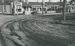 Howe Street and Castle Streets 1952