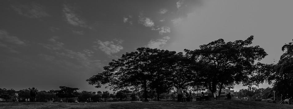 岡山河堤公園