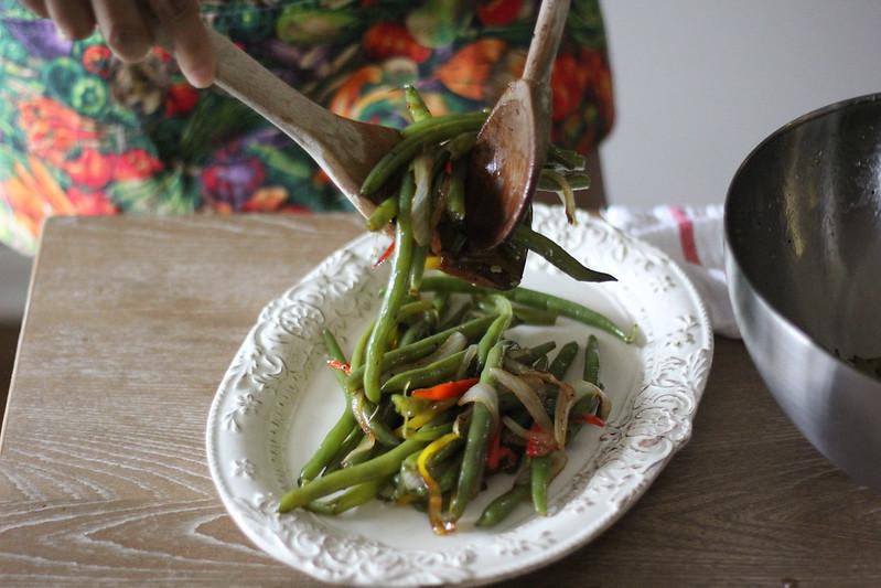 Sweet Pepper Green Beans