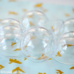 Clear Plastic Baubles to Fill and Decorate