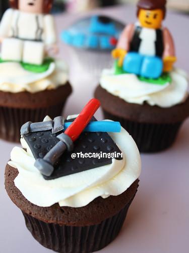 Star Wars cupcakes, Lightsaber Cupcake