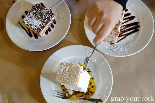 Serbian desserts at Madera Kafe, Warwick Farm