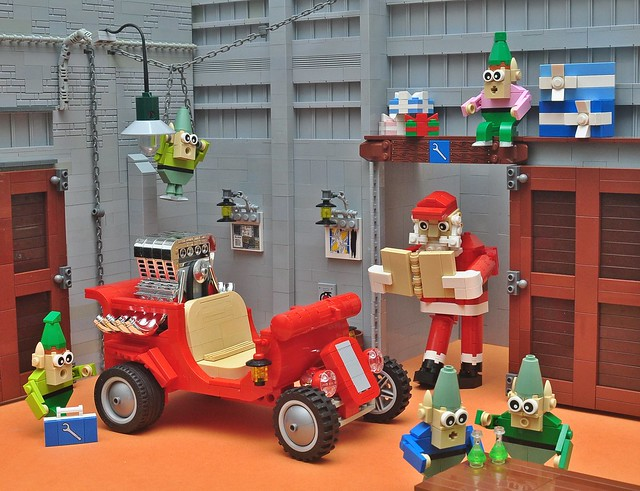Santa's Hot Rod!!!