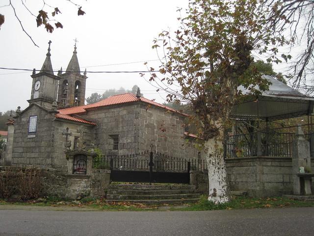 Iglesia de A Lamosa en Covelo
