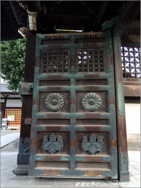 東本願寺。阿彌陀門細部
