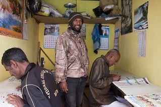 Sri Lanka. Haputale. Apuestas de caballos.Betting on Turf Races