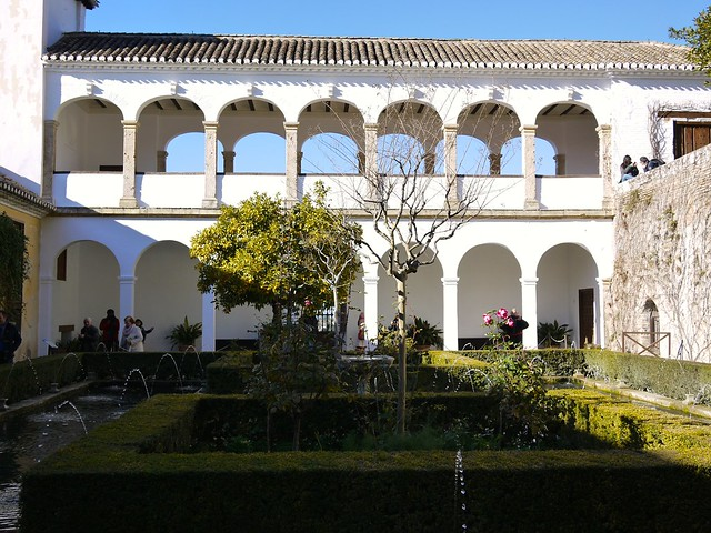 Spain Granada The Alhambra Generalife 2