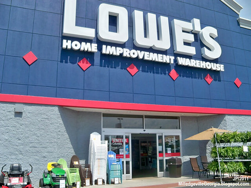 Samsung products have been sold through Lowe's since 2005