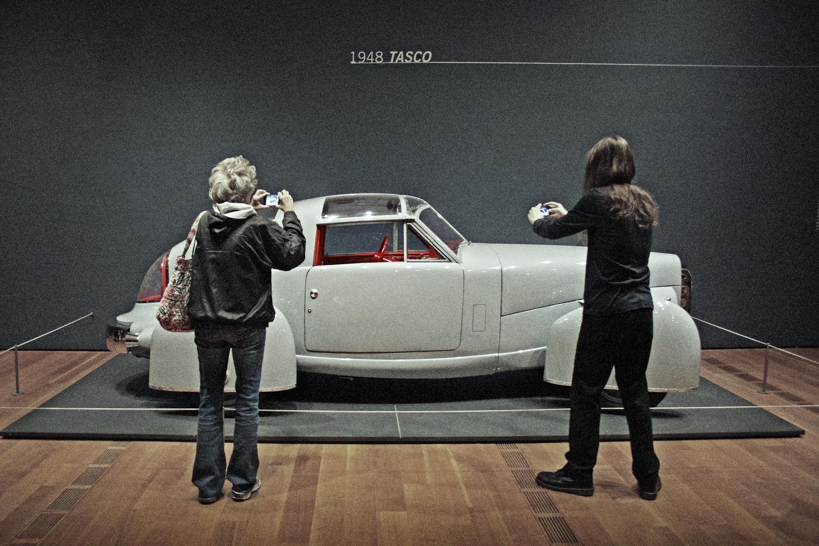 1948 Tasco, Dream Cars Exhibit, High Museum of Art, Summer 2014