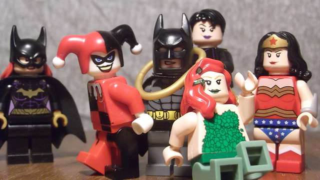 Batman and his Gals, Fujifilm FinePix T210