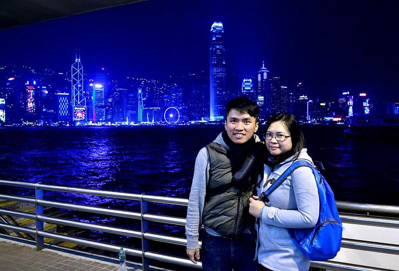 尖沙咀碼頭夜景