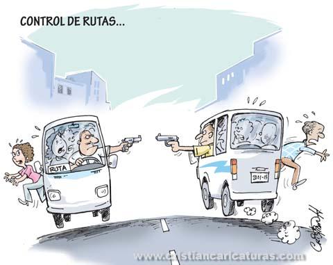 Control de rutas