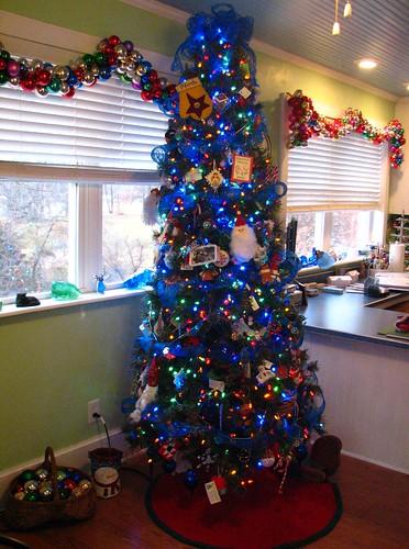 Christmas Notebook Christmas tree