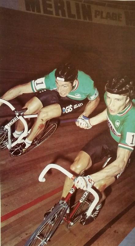 Francesco Moser and Dietrich Thurau  1983