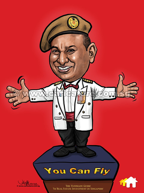 digital commander caricature for PropertyGuru