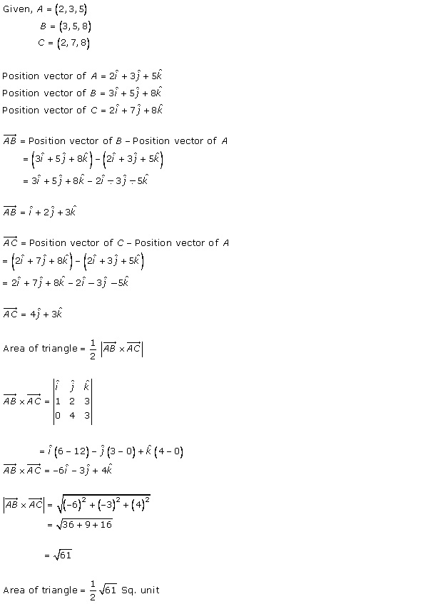 RD Sharma Class 12 Solutions Online Chapter 25 Vector or Cross Product Ex 25.1 Q29