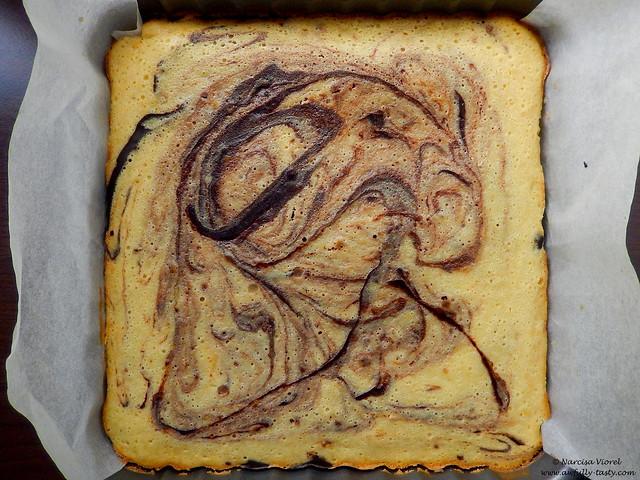 Brownie cu mascarpone