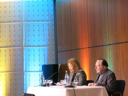 Monika Lichtenfeld und Gerhard Rühm