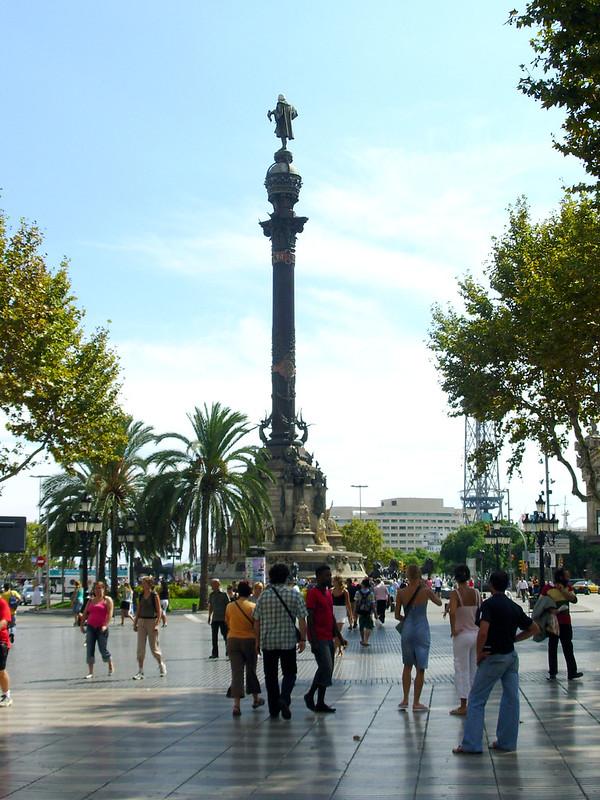Monument a Colom, Barcelona, Espanha