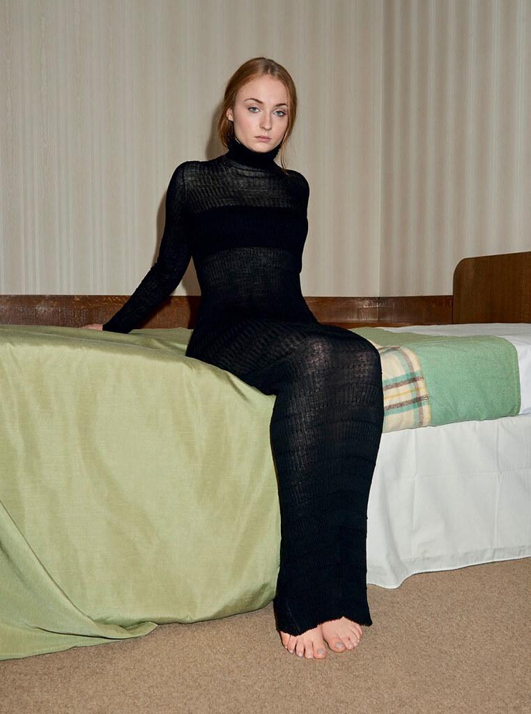 Софи Тёрнер — Фотосессия для «InStyle» UK 2016 – 4