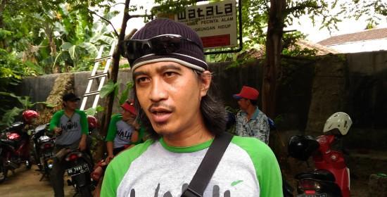 Hendrawan Direktur Walhi Lampung