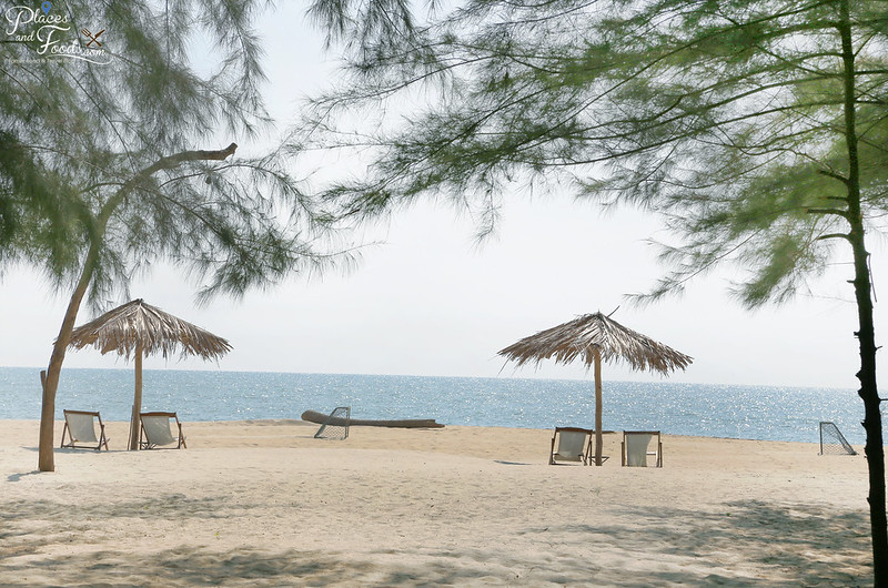 ko kho khao hula beach long pine trees and beach