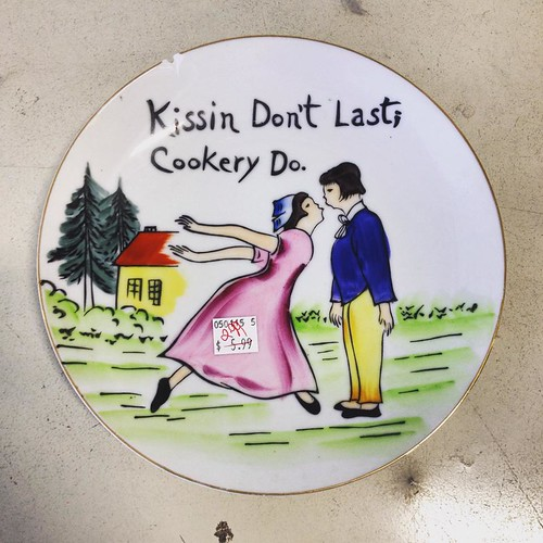 Kissin Don't Last; Cookery Do at Thrift Store (May 20 2015)