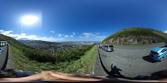From the road just below Pu'u Ualaka'a  - a 360° Equirectangular VR