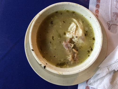 Panama City: soupe de poulet en entrée