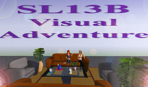 SL13B - Visual Adventure - Incredible - by Gee by Fran and her cats