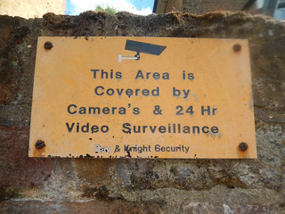 This Area is Covered by Camera's