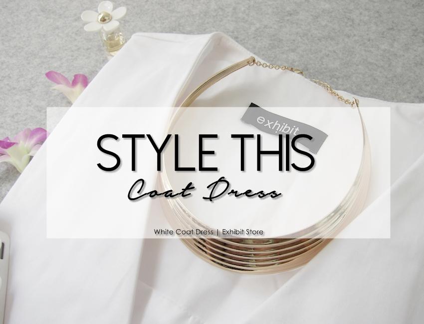Style this coat dress