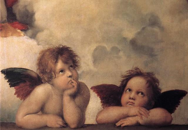 Rafael Sanzio e os anjos mais famosos de toda história da arte