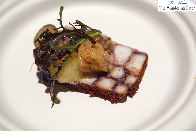 Octopus pastrami by Bâtard