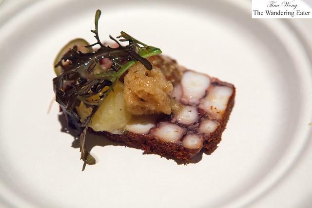Octopus pastrami by Bâtard
