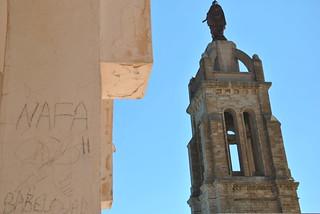 Graffiti Santa cruz oran