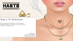 [Haste] Pewp and TP Necklace @ Geeks N Nerds