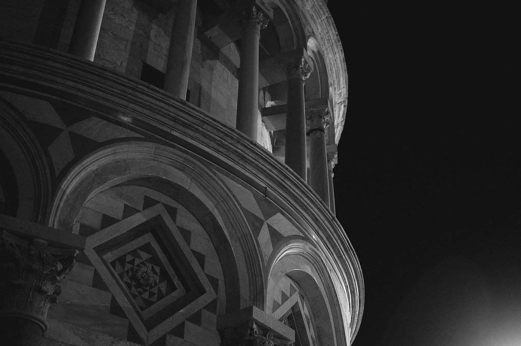 Leaning Tower of Pisa at Night 2