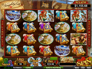 The Naughty List slot game online review