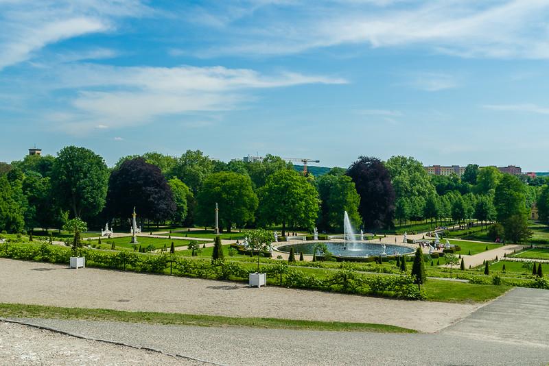 Jardines del Palacio de Sansoucci