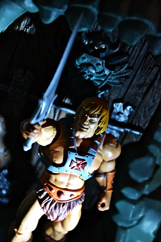 He-Man at Castle Grayskull