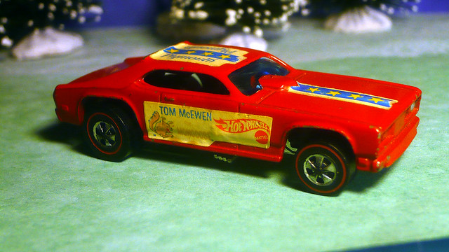 a 1970 tom mcewen mongoose plymouth duster funny car redline hot wheels flickr photo sharing. Black Bedroom Furniture Sets. Home Design Ideas