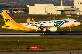 F-WWIX A320 Cebu Pacific